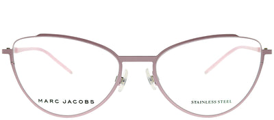 Marc Jacobs Marc 40 TEI Cat-Eye Metal Pink Eyeglasses with Demo Lens