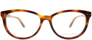 Bottega Veneta BV 0196O 002 Cat-Eye Plastic Tortoise/ Havana Eyeglasses with Demo Lens