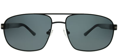 Chesterfield CH 05S 0003 Aviator Metal Black Sunglasses with Grey Polarized Lens