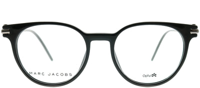 Marc Jacobs Marc 51 D28 Round Plastic Black Eyeglasses with Demo Lens
