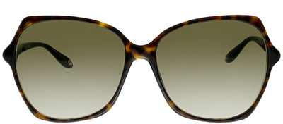 Givenchy GV 7094 086 Rectangle Plastic Tortoise/ Havana Sunglasses with Brown Gradient Lens