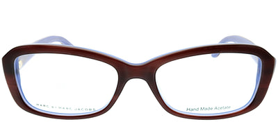 Marc by Marc Jacobs MMJ 524 ISK Rectangle Plastic Tortoise/ Havana Eyeglasses with Demo Lens