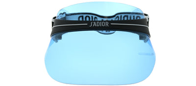 Dior CD DiorClub1 J0F Plastic Black with Blue Visor