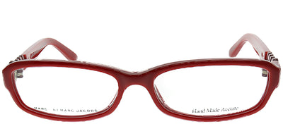 Marc by Marc Jacobs MMJ 542 EXD Rectangle Plastic Burgundy/ Red Eyeglasses with Demo Lens