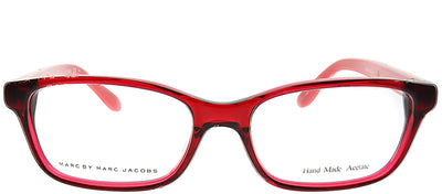 Marc By Marc Jacobs MMJ 578 C42 Rectangle Plastic Burgundy/ Red Eyeglasses with Demo Lens