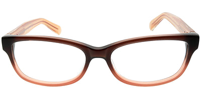 Marc by Marc Jacobs MMJ 598 5XM Rectangle Plastic Brown Eyeglasses with Demo Lens