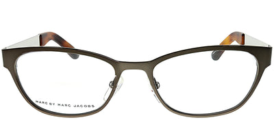 Marc by Marc Jacobs MMJ 606 8ZC Rectangle Plastic Grey Eyeglasses with Demo Lens
