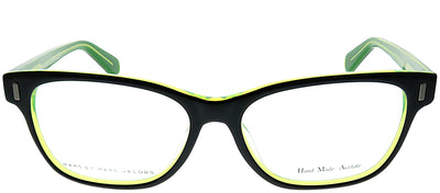 Marc by Marc Jacobs MMJ 611 7ZJ Rectangle Plastic Black Eyeglasses with Demo Lens