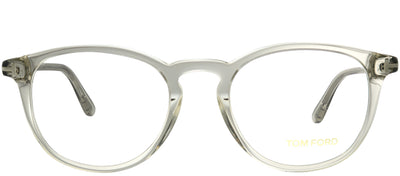 Tom Ford FT 5401 020 Round Plastic Grey Eyeglasses with Demo Lens
