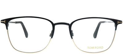 Tom Ford FT 5453 002 Square Metal Black Eyeglasses with Demo Lens