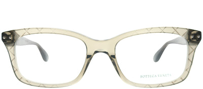 Bottega Veneta BV 0236O 002 Rectangle Plastic Brown Eyeglasses with Demo Lens