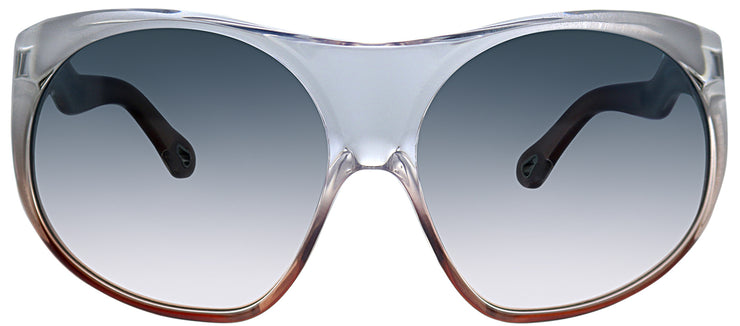 Chloe CE 731S 614 Oversized Plastic Grey Sunglasses with Grey Gradient Lens