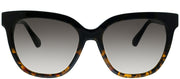 Kate Spade KS Kahli WR7 Rectangle Plastic Tortoise/ Havana Sunglasses with Brown Gradient Lens