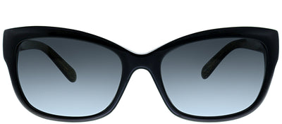 Kate Spade KS Johanna JLQ Cat-eye Plastic Black Sunglasses with Grey Gradient Lens