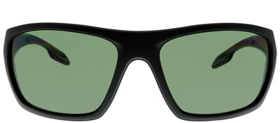 Prada Linea Rossa PS 06SS 1BO5X1 Sport Plastic Black Sunglasses with Green Polarized Lens