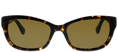 Kate Spade KS Marilee/P FZL Rectangle Plastic Tortoise/ Havana Sunglasses with Bronze Polarized Lens
