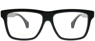 Gucci GG 0464O 006 Square Plastic Black Eyeglasses with Demo Lens