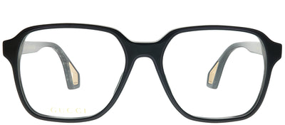 Gucci GG 0469O 001 Square Plastic Black Eyeglasses with Demo Lens