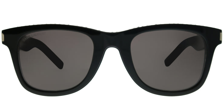 Yves Saint Laurent SL 51 038 Fashion Plastic Black Sunglasses with Grey Lens