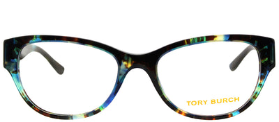 Tory Burch TY 2060 3145 Cat-Eye Plastic Tortoise/ Havana Eyeglasses with Demo Lens