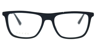 Gucci GG 0691O 001 Rectangle Plastic Black Eyeglasses with Demo Lens