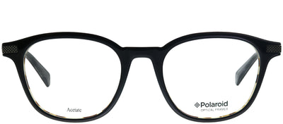 Polaroid PLD D347 I21 Square Plastic Black Eyeglasses with Demo Lens