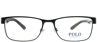 Polo Ralph Lauren PH 1157 9038 Rectangle Metal Black Eyeglasses with Demo Lens