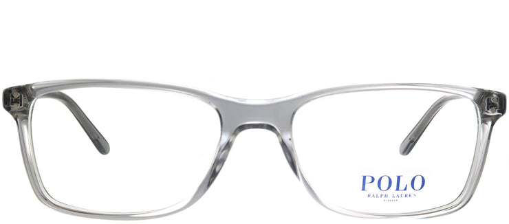 Polo Ralph Lauren PH 2155 5413 Rectangle Plastic Grey Eyeglasses with Demo Lens