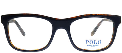 Polo Ralph Lauren PH 2173 5638 Rectangle Plastic Blue Eyeglasses with Demo Lens
