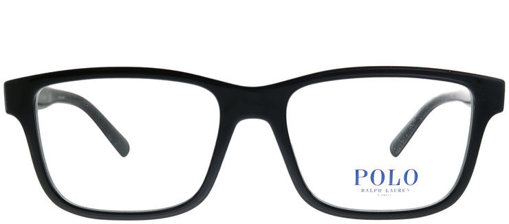 Polo Ralph Lauren PH 2176 5001 Rectangle Plastic Black Eyeglasses with Demo Lens