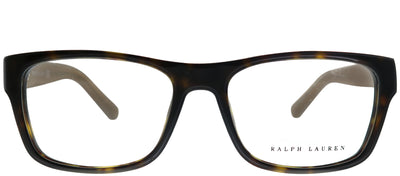 Ralph Lauren RL 6118 5003 Rectangle Plastic Tortoise/ Havana Eyeglasses with Demo Lens
