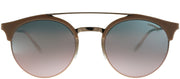 Carrera CA Carrera141 DDB Round Metal Gold Sunglasses with Rose Mirror Lens