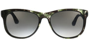 Carrera CA Carrera5010 8GR Square Plastic Grey Sunglasses with Grey Gradient Lens