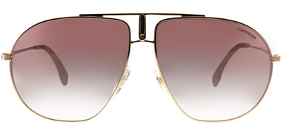 Carrera CA Bound DDB Aviator Metal Gold Sunglasses with Brown Mirror Lens