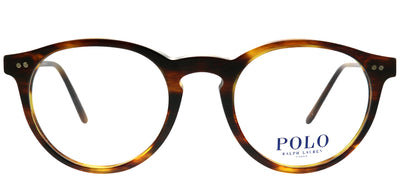Polo Ralph Lauren PH 2083 5007 Round Plastic Tortoise/ Havana Eyeglasses with Demo Lens