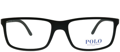 Polo Ralph Lauren PH 2126 5534 Rectangle Plastic Black Eyeglasses with Demo Lens