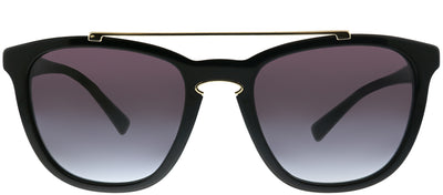 Valentino VA 4002 50018G Square Plastic Black Sunglasses with Grey Gradient Lens