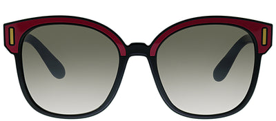 Prada PR 05US SVS4P0 Square Plastic Pink Sunglasses with Brown Mirror Lens