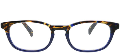 Eyebobs EB 2227 50 Rectangle Plastic Blue Reading Glasses