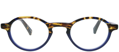 Eyebobs EB 2147 50 Round Plastic Blue Reading Glasses
