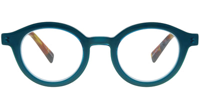 Eyebobs EB 2236 59 Round Plastic Blue Reading Glasses
