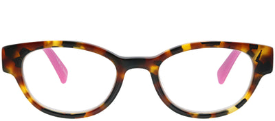 Eyebobs EB 2258 45 Oval Plastic Brown Reading Glasses