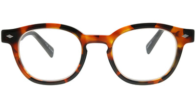 Eyebobs EB 2864 19 Round Plastic Brown Reading Glasses