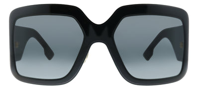 Dior CD DiorSoLight2 807 Wrap Plastic Black Sunglasses with Demo Lens