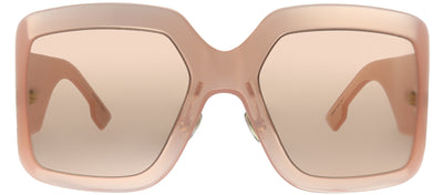 Dior CD DiorSoLight2 FWM Wrap Plastic Pink Sunglasses with Pink Lens