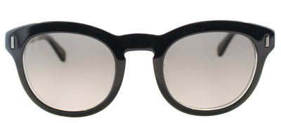 Marc By Marc Jacobs MMJ 433 7C5 Round Plastic Black Sunglasses with Grey Gradient Lens