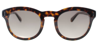 Marc By Marc Jacobs MMJ 433 KRZ Round Plastic Tortoise/ Havana Sunglasses with Brown Gradient Lens