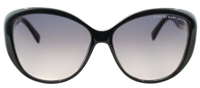 Marc By Marc Jacobs MMJ 443 807 Cat-Eye Plastic Black Sunglasses with Grey Gradient Lens