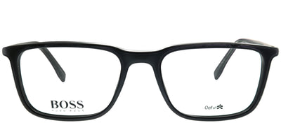 Hugo Boss BOSS 0962 807 Rectangle Plastic Black Eyeglasses with Demo Lens