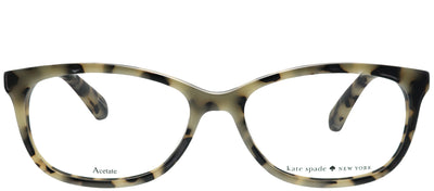Kate Spade KS Kaileigh BOA Rectangular Plastic Tortoise/ Havana Eyeglasses with Demo Lens
